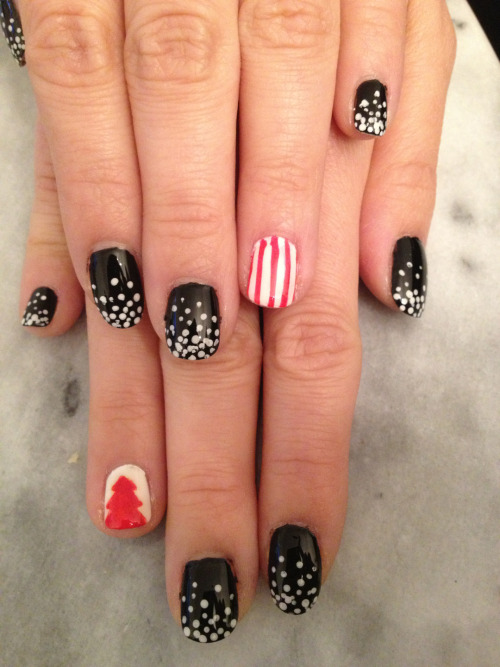 nailklub:  Holiday nails