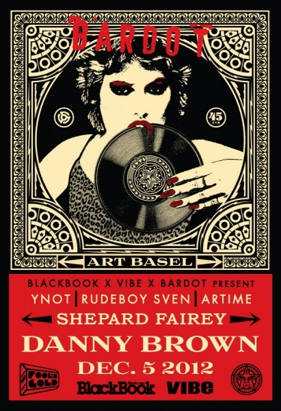 This Wednesday we getting artsy in Miami with Shepard Fairey