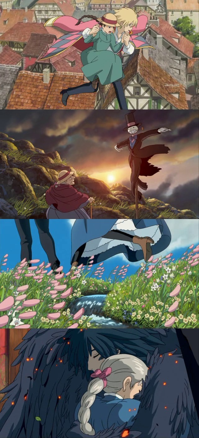 moviesinframes:  Hauru no ugoku shiro (Howl's Moving Castle), 2004 (dir. Hayao Miyazaki)By quello nello specchio