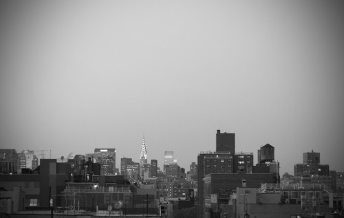 Memories. From the rooftop of my building in Chinatown, New York in April 2012.