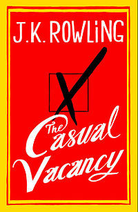 "huffposttv:  J.K. Rowling's ""The Casual Vacancy"" is heading to TV. The series will air on BBC One. No episode count has been announced yet. ""I'm thrilled that the BBC has commissioned 'The Casual Vacancy,'"" Rowling said in a statement. ""I always felt that, if it were to be adapted, this novel was best suited to television and I think the BBC is the perfect home."""