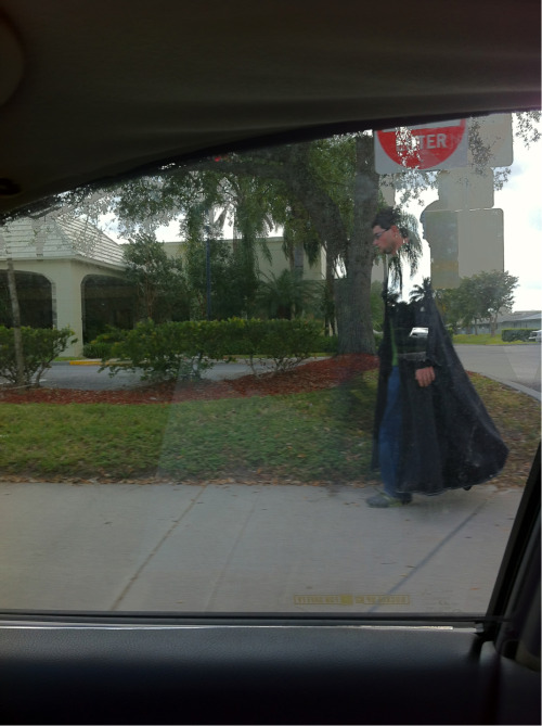 look you guyz a real live wizard, his invisibility cloak was glitchy.
