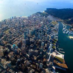 A Bursting City ♦ Vancouver, British Columbia, Canada | by Evan Leeson