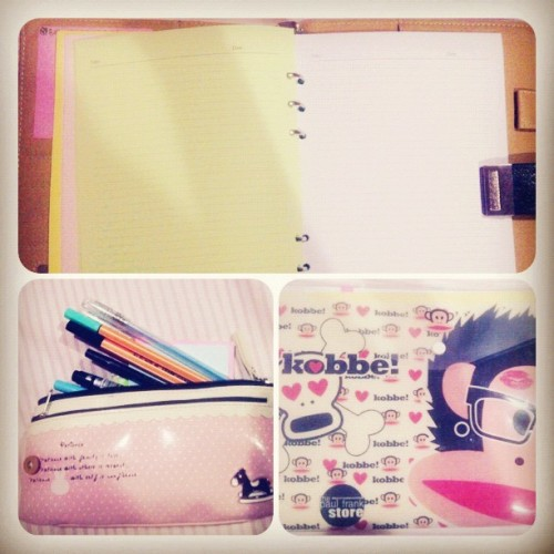 Perlengkapan perang 😁😁 #stationery #work #cute #instagram  (at Wisma Kodel)