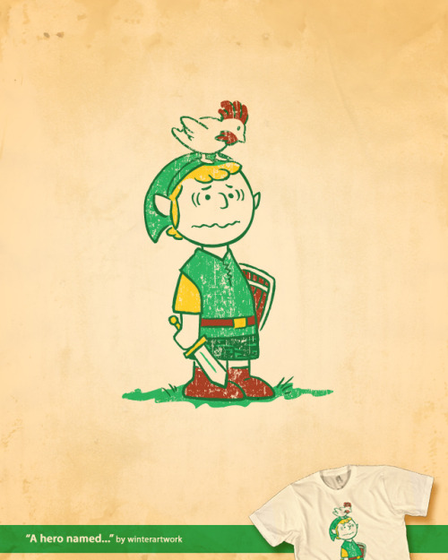 """A Hero Named…"" by WinterArtwork REPRINT USD$9.99 (today only) Follow the artist on Tumblr (Via: gamefreaksnz)"