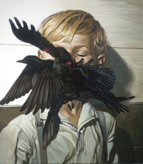 supersonicelectronic:  Meghan Howland. Paintings by Meghan Howland. Read More