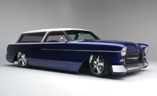 """classiccars10:  1955 Chevrolet """"Newmad"""" Vía: Classic Car Pictures"""