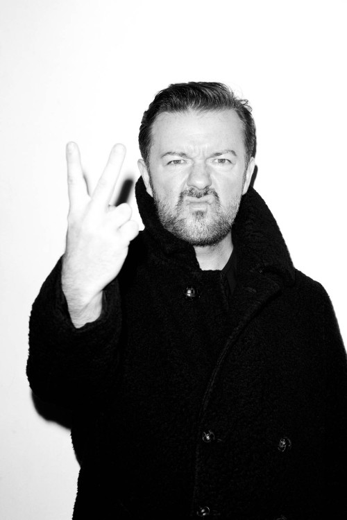 terrysdiary:  Ricky Gervais at my studio #2