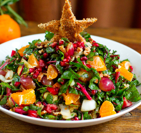 findvegan:  Christmas Tree Salad for the holidays!!