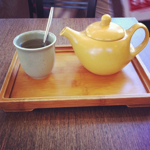 Bai Mudan White Tea (at Café Venetia)