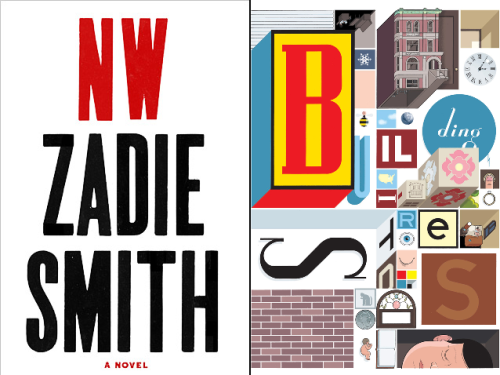"NWBy Zadie Smith ""Smith's piercing new novel, her first in seven years, traces the friendship of two women who grew up in a housing project in northwest London, their lives disrupted by fateful choices and the brutal efficiency of chance. The narrative edges forward in fragments, uncovering truths about identity and money and sex with incandescent language that, for all of its formal experimentation, is intimate and searingly direct."" BUILDING STORIESBy Chris Ware ""Ware's innovative graphic novel deepens and enriches the form by breaking it apart. Packaged in a large box like a board game, the project contains 14 'easily misplaced elements' — pamphlets, books, foldout pages — that together follow the residents of a Chicago triplex (and one anthropomorphized bee) through their ordinary lives. In doing so, it tackles universal themes including art, sex, family and existential loneliness in a way that's simultaneously playful and profound."" via NYTimes' ""10 Best Books of 2012""  Congratulations to both Zadie and Chris for writing two of the 10 best books of the year! We're thrilled to have them as our closing guests for the season on December 11 and hope you'll join us in welcoming these masters of their crafts to the stage. (It also doesn't hurt that they're pretty much in friend-love with each other already.)"