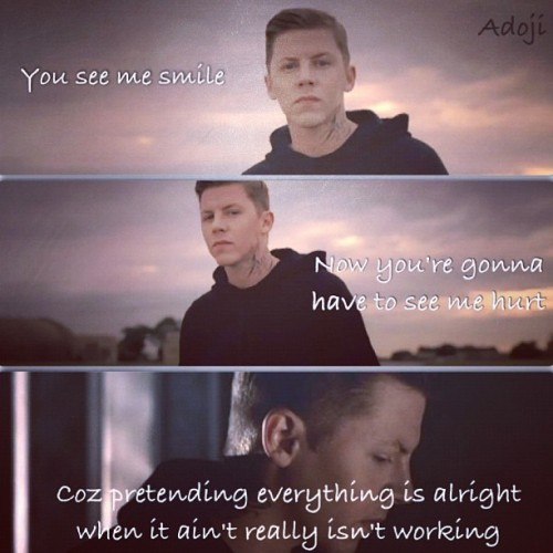 #professor_green #singer #rap #song #emeli_sande #words #sky #cloud #black #face #by_me #q8 #kuwait part of read all about it song it's my fav❤