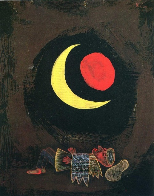 stephendavids:  Paul Klee Strong Dream,1929