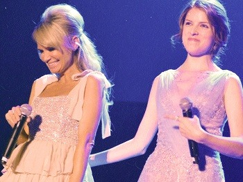 Kristin Chenoweth and Anna Kendrick deliver a dynamite WICKED duet at TREVOR LIVE