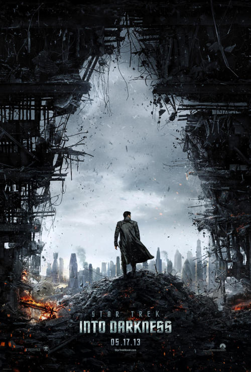 Everyone here is the brand new poster for  Star Trek: Into Darkness