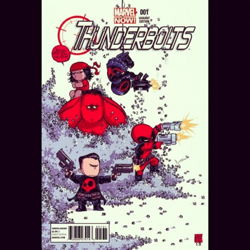 #TB #Babies… That don't sound right. #Thunderbolts #1 #Variant #Cover #MarvelNow #Marvel #Comics…