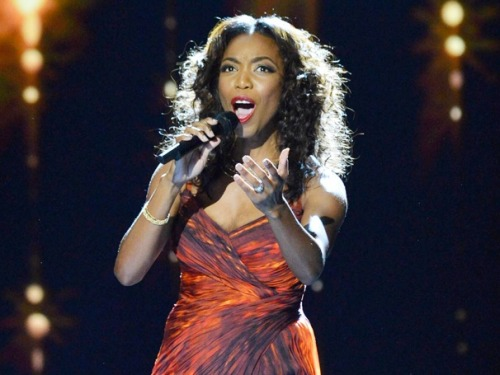 THE BODYGUARD star Heather Headley wows the crowd at London's Royal Variety performance