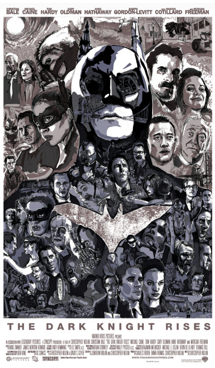 The Dark Knight Rises by Matthew Brazier