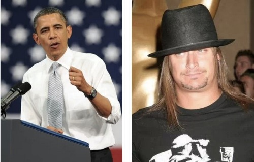 Singer and Republican supporter Kid Rock had a run-in with President Barack Obama at an annual charity even in Washington DC over the weekend and the encounter…. was actually very cordial and civil. The way it should be. To get Kid Rock's commets, click the pic.