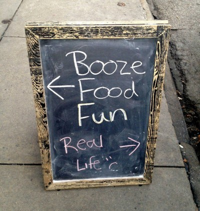 Life is full of choices… via Funny Signs