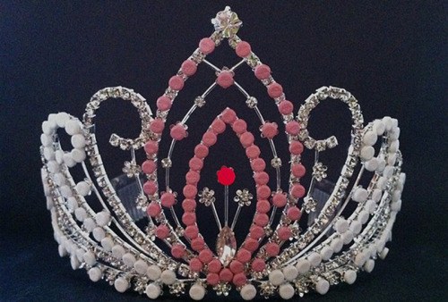 "fostervatten:  Michele Pred - ""Miss Conception"", vagina tiara made from birth control pills."