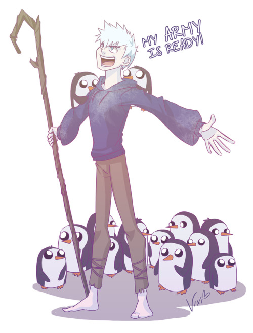 Jack's Army - Rise of the Guardians by xxMeMoRiEzxx