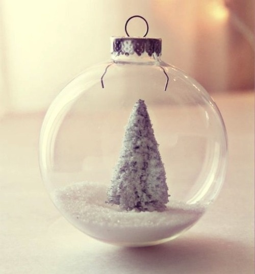 DIY Winter Wonderland ornament, via Craftberry Bush