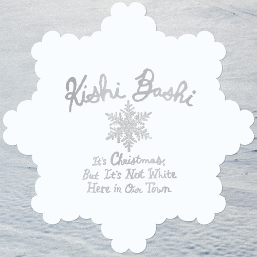 "Kishi Bashi is releasing ""It's Christmas, But It's Not White Here In Our Town"" as a snowflake-shaped flexi-disc soon. Hear it right now."