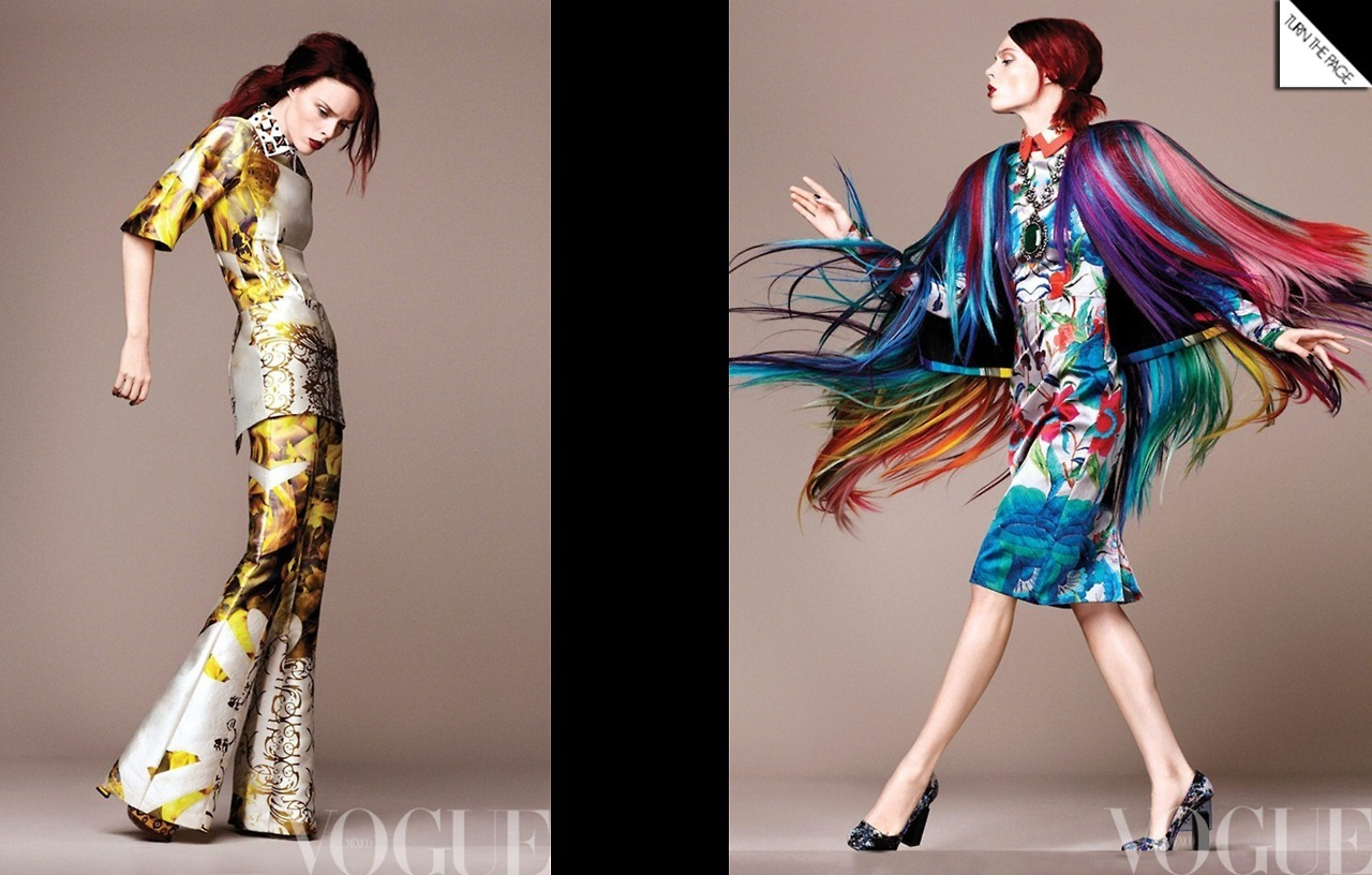 Vogue Mexico | David Roemer | Sarah Gore-Reeves | Coco Rocha | Dec. 2012