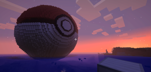 A giant Pokéball I built for a friend a while back :)