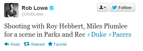 For those who watch Parks and Rec, it looks like Miles will be featured in an episode.