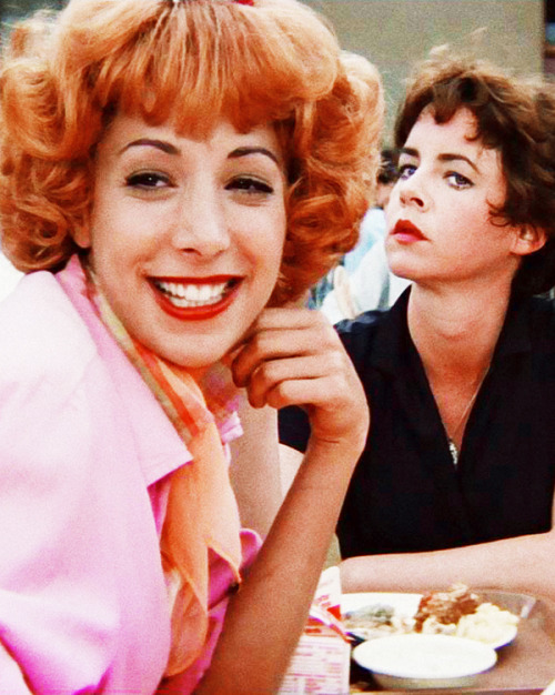 Didi Conn and Stockard Channing in Grease (1978)