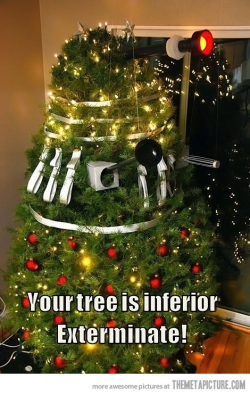 O Dalek-baum, O Dalek-baum… (via Exterminate! - The Meta Picture)