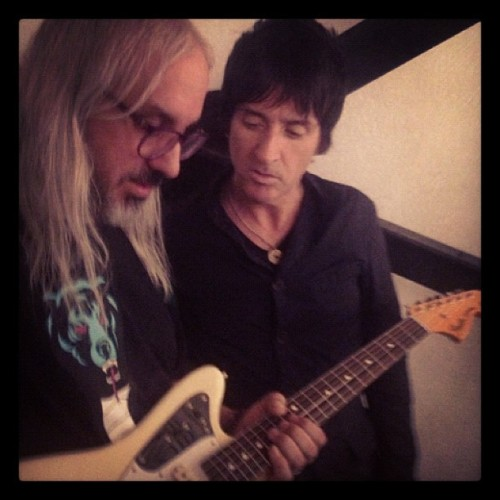 J Mascis and Johnny Marr