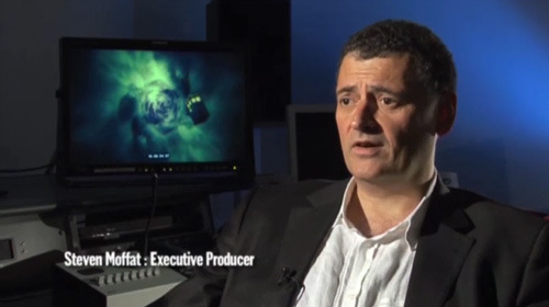 Video: Steven Moffat on the First Dalek Adventure via the BBC Doctor Who Blog:  The Daleks first appeared 49 years ago this month when the TARDIS visited the strange and sinister planet known as Skaro… To celebrate the Doctor's oldest alien adversaries we're beginning a short series of videos which feature Doctor Who's lead writer and Executive Producer, Steven Moffat, discussing their history. He selects a number of stories that are amongst his favourites and the most significant Dalek adventures, beginning, appropriately enough, with the Daleks' debut from December, 1963.