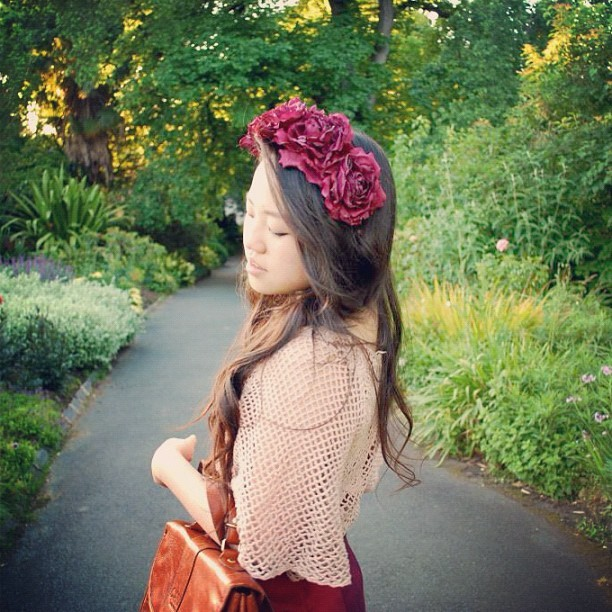 New blogpost featuring @asos and @kisforkani crown - http://etbreadandbutter.blogspot.com.au/2012/12/ox-blood.html?m=1