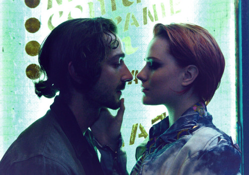 First look at Shia LaBeouf & Evan Rachel Wood getting close in 'The Necessary Death Of Charlie Countryman'