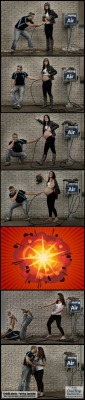 neeshamabel:  The best pregnancy montage   This is amazing!