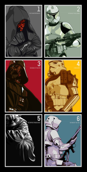 Inspiring Star Wars Illustrations