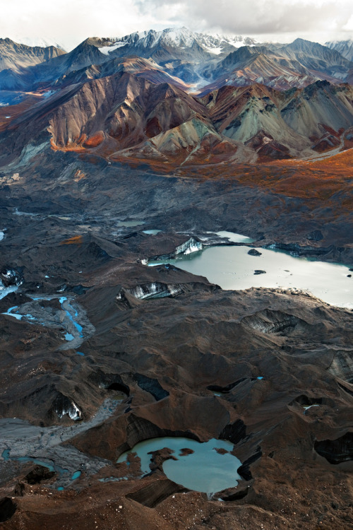 pleoros:  Over Denali by Mitch Seaver