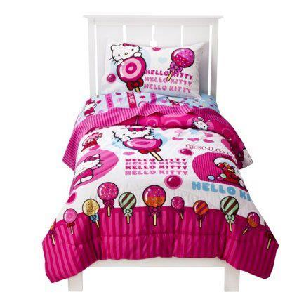 Lollipop twin bed set