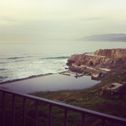 I will never get sick of this view.  (at Sutro Baths Ruins)