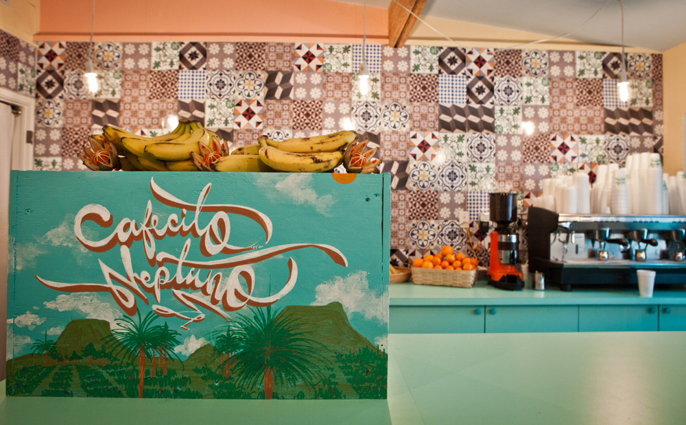 José Parlá's new Cuban café at The Standard Spa, Cafécito Neptuno, is open 24 hours this week for at Art Basel.  Read more here!