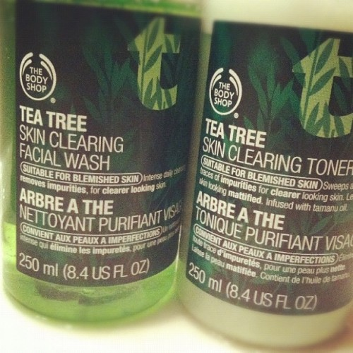 My skin loves this stuff …. @thebodyshopusa #products #toner #cleanser Got oily skin? Try this ……