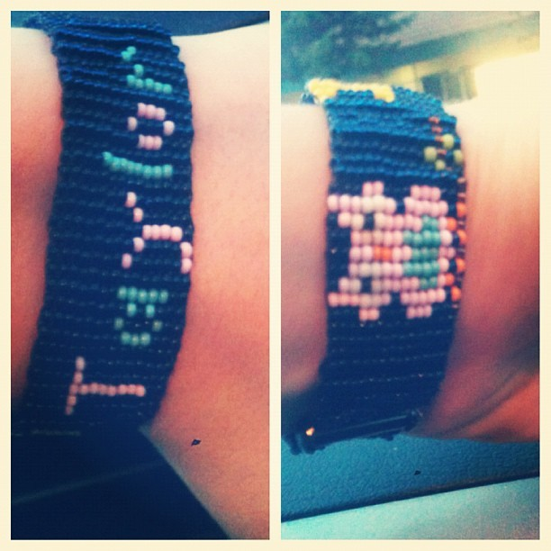 My new cute bracelet(: