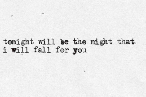typewrite-r:  secondhand serenade - fall for you