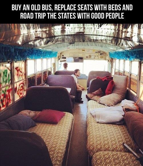 rudywolfe:  shelbyrosesarles:  I'm gonna do this. Travel around the US with three of my bestfriends.  My new Goal in life.