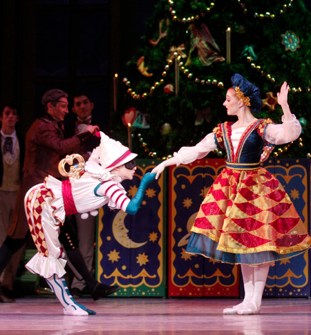 "Professional Ballet Dancers discuss The Nutcracker!   Dancers have a love-hate relationship with Nutcracker. For many, it was the first ballet they saw; for even more, it was the first they ever performed. But, despite the nostalgia, December's relentless marathon of shows takes a toll. If Nutcracker music is starting to make you a little loopy, you're not alone! Abigail MentzerSoloist at Pennsylvania BalletFirst roles: Angel and Soldier in The Nutcracker movie with Macaulay CulkinFavorite role: Lead Marzipan and Sugar PlumPerformances per season: About 30All-time favorite Sugar Plum: Darci KistlerHow do you stay sane during Nutcracker season? I sew. It takes my mind off the day. And my gym is across the street from our theater, so in between shows—some Saturdays we have three in a day—I'll go to the hot tub. How do you keep up your stamina? I swim laps about three times a week. It loosens up my joints. I always feel much more open and taller afterwards. What goes through your mind when you hear Nutcracker music in a store? Honestly? Anxiety. Favorite holiday traditions? Icing my feet! And I love to escape to New York City, because that's where I grew up. Biggest Nutcracker nightmare? In my first year doing Sugar Plum, my shoe came off near the end of my variation! I had to do the whole greeting scene with it practically off my foot. I thought nothing could go wrong after that—but the next day, my partner was horribly sick, and in the pas when we did the no-handed fish, he didn't feel me start to slide down. My belly was basically lying on the floor! Lia CirioPrincipal at Boston BalletFirst role: Party kidFavorite roles: Dew Drop and Snow QueenPerformances per season: 40–45All-time favorite Sugar Plum: Larissa Ponomarenko How do you stay sane? Halfway through the run, I'll usually be like, ""Okay, let's go Christmas shopping!"" I love trying to get the best presents, something the person would never guess—I kind of go crazy, researching online. And I'll shop for a New Year's dress, or decorate my dressing room with lights.Do you exchange gifts with castmates? For ""merde"" gifts, we all go to this Chinese store down the street and try to find the most random stuff—like Sharpies. One time, someone gave me a baby blanket, which I still use as a mat to stretch on! What do you do on Christmas? My brother Jeffrey is also in the company, so our parents usually come up here. My mom makes dinner, and we'll invite over other dancers whose families aren't nearby. Last year, we had two days off, so we actually got to go home to Philadelphia for the first time in seven years.Any blooper stories? Not personally, but we have a story that's epic at Boston Ballet: We were doing an afternoon show for children, and James Whiteside and Kathleen Breen Combes were dancing Arabian for the first time. All of the sudden, a girl from the audience crawls up on stage and starts running around screaming! They just keep dancing, and it becomes a pas de trois. The girl runs backstage and Craig, our stage manager, tries to catch her, but she's scared—he's a big guy. Then Drosselmeyer runs after her, and she's screaming and running back and forth onstage. She starts to go toward the pit, and suddenly one of our ""Russian"" guys runs out, like a hero, and scoops her up.Roddy DobleCorps de Ballet at American Ballet TheatreFirst role: Soldier. I was 5 and I wasn't even doing ballet yet; I was in my town's local karate school. Favorite roles: Cavalier, Arabian, Spanish, Russian—anytime I get the chance to really dance.Performances per season: 20–30How do you stay sane? Take it one show at a time. If you start the countdown too early, you'll drive yourself crazy.How do you keep up your stamina? I'll confess to being a total gym rat. I do a lot of cross-training, and take classes in mixed martial arts and Krav Maga, which is Israeli self-defense. If I have a ridiculously demanding show day, adding the gym on top of it is too much, but otherwise, I want to make sure that I get my heart rate up. Most unique Nutcracker you've done? When I performed as a guest in the Netherlands. Nutcracker isn't a big tradition there, so they had a very unusual version. Instead of Mother Ginger, they had a giant rabbi—and these kids ran out in sequin costumes and started break-dancing!What goes through your head when you hear Nutcracker music in a store? Oh, it's awful. Painful. Especially when you're younger, you start rehearsing so early in the year that by the time December comes around, you're thinking, If I hear this music one more time, I'll convert to Judaism!Lauren KingCorps de Ballet at New York City BalletFirst role: Soldier Favorite role: DewdropPerformances per season: About 50How do you keep up your stamina? I usually eat two dinners, one before the show and one after. Sometimes I'll cook a big meal at the beginning of the week, like pasta with vegetables in it, and then carry it with me to eat before performances. I don't like dancing on an empty stomach. Any Nutcracker traditions? In the dressing room, during the halfway point of each show we used to always play the song ""Livin' on a Prayer"" by Bon Jovi: ""Whoa, we're halfway there…""Any blooper stories? One night during ""Waltz of the Flowers,"" a big piece of marley tape came up on the stage. I knew it'd be pretty distracting. At the very end, when we posed and bowed, the tape was right in front of me, so I did a huge swoop down and ripped it off. What goes through your head when you hear Nutcracker music in a store? It's almost like The Red Shoes. You can't help but want to do the choreography to it. No one else even notices the music, but inside, you're doing the dance.Meaghan Grace HinkisFirst Artist at The Royal BalletFirst role: Clara Favorite role: Clara in The Royal Ballet's NutcrackerPerformances per season: 25–30All-time favorite Sugar Plums: Marianela Nuñez and Alina CojocaruBest gift you've received backstage? Last year at my first Royal Ballet show as Clara, I got a bouquet of flowers from the corps at ABT, where I used to dance. It was incredible to have that support from such great girls back in New York.Any Nutcracker traditions? We decorate the dressing rooms. It's a little competition, and whichever row has the best decorations wins. Oddest Nutcracker memory? Over the years, I think I've eaten pounds of snow. There's so much running around in the snow scenes in both ABT's and The Royal Ballet's productions that you swallow a ton.What do you do on Christmas Day? This past year, my whole family came over to London. My brother, sister and I woke up early to open our stockings, like little kids. We went to dinner at a traditional English restaurant, and just spent the day together, which is really what it's about for me.Courtney ElizabethSoloist at San Francisco BalletFirst role: Mouse. Last year marked 20 years of doing Nutcracker, so my mom gave me a crystal figurine of a ballerina to celebrate. Favorite role: As a child, Polichinelle. I'd wanted to be one for several years, and it was an amazing thing!Performances per season: 30–35 How do you stay sane? Because we do two shows a day, every day, it can start to feel like the movie Groundhog Day. The best thing is to inject a little spontaneity, like going out to lunch with a friend. And I like to have a different motivation for each performance. Some days, I'll focus on my port de bras, or in the party scene I'll add a different adjective in front of my role, like ""Today I'm the spunky maid."" Or the ""flustered maid."" In the past, we've tried to count how many balancés were in the ""Waltz of the Flowers""—I think it was upwards of 70.Any blooper stories? So many! Since I play the maid in the party scene, our master of props has me do his dirty work. I'll be carrying glasses around and he'll say, ""Something fell into the trap door. Can you go dig it out?"" Or, ""We forgot to turn the remote control couch on! Will you go flip the switch on the bottom?"" There were several days that I think I saved the show! Favorite Nutcracker memory? On Christmas Eve, our orchestra plays carols as the audience leaves. Two years ago when I was in the corps de ballet, I was taking off toward the dressing rooms, and one of our ballet mistresses was chasing me down saying, ""Helgi wants to talk to you!"" I thought, Oh no, what did I do wrong? He pulled me and a couple of my colleagues over and said, ""You've been dancing so well this season that I want to make you soloists, effective immediately."" Meanwhile, the orchestra was playing ""Joy to the World"" in the background."