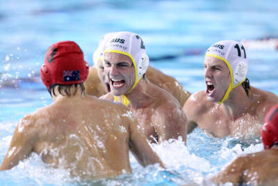 1st World Youth Water Polo Championshps! Australia vs South Africa Click for more information: