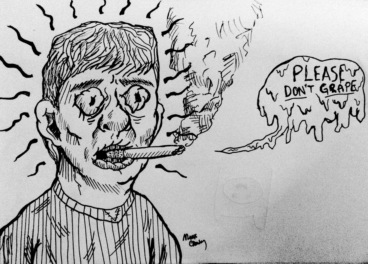 sketchbook drawings….smoking